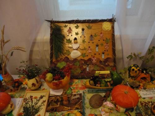 """Как сделать своими руками? выставка поделок из овощей и фруктов  """"Дары осени """" - Мои фотографии."""